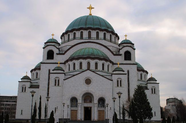 Cathedral of St Sava in Belgrade