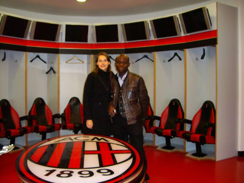 AC Milan's lockers