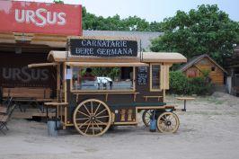 German sausages and beer