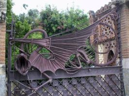 Guell Pavilion - Dragon Gate