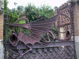 Guell Pavilion - Dragon Gate