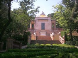 North Pavilion - The Garden of the Horta Labyrinth