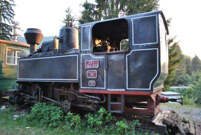 Mocanita locomotive