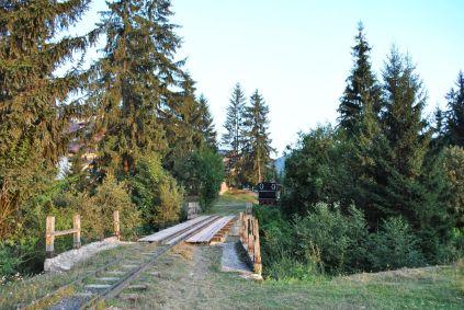 Mocanita tracks