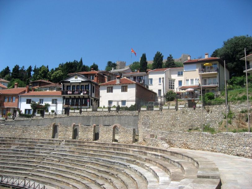 Ancient Theatre in Ohrid