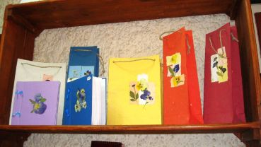 Handmade paper products