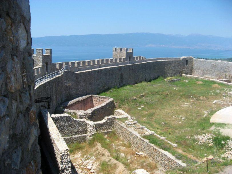 Inside Tsar Samuil's Fortress