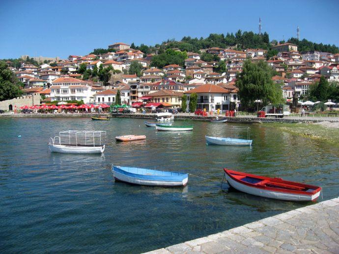 Ohrid port