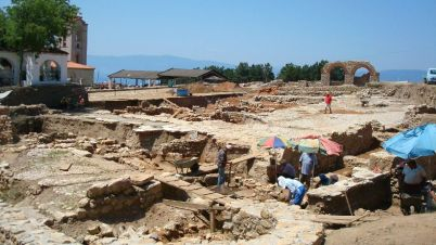 Plaosnik archaeological site