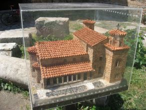 St Sophia Cathedral - scale model