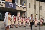 Traditional dance and music show in Craiova