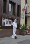 Mime on Unirii Street in Craiova