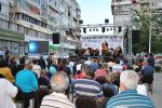 Outdoor classical music performance from Oltenia Philharmonics