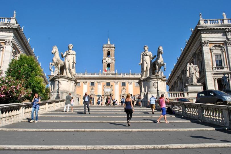 Cordonata Capitolina in Rome