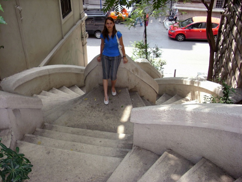 Kamondo stairs in Istanbul