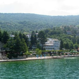 Hotels along Lake Ohrid's shore