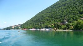 Lake Ohrid's shore