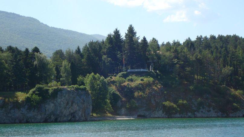 Tito's summer residence in Ohrid