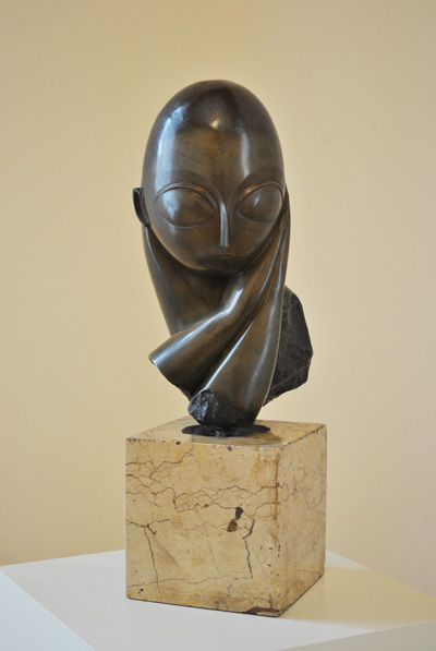 Brancusi's Miss Pogany in Craiova's Art Museum