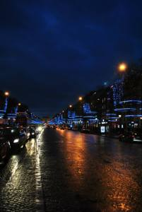 Paris by night - Blue Paris