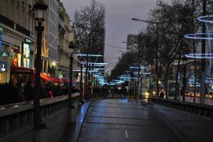 Paris by night - Christmas lights