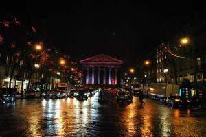 Paris by night - Place de la Madeleine
