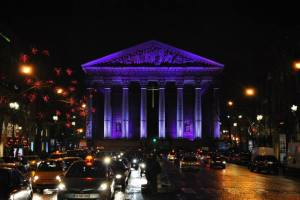 Paris by night - Purple Madeleine