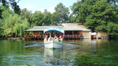Boat ride on Lake Ohrid's springs (1)