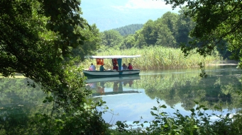 Boat ride on Lake Ohrid's springs (2)