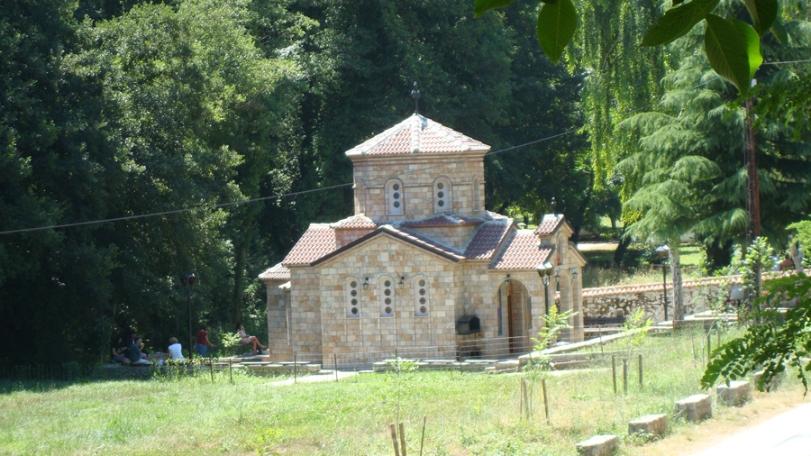 St Petka Chapel in St Naum