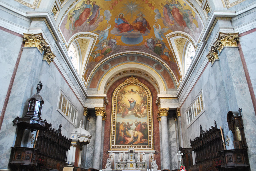 Altar of the Esztergom Basilica