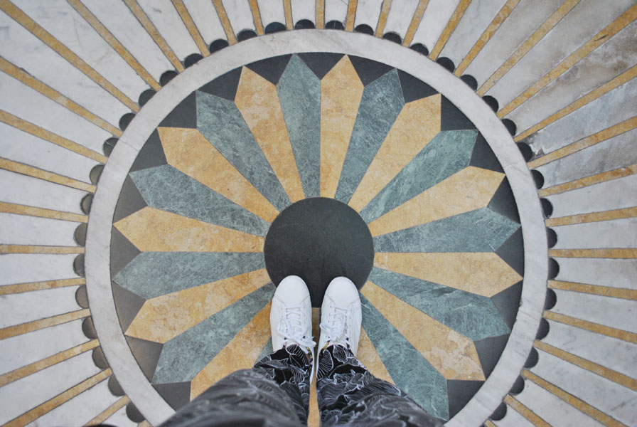 Floor of the Esztergom Basilica
