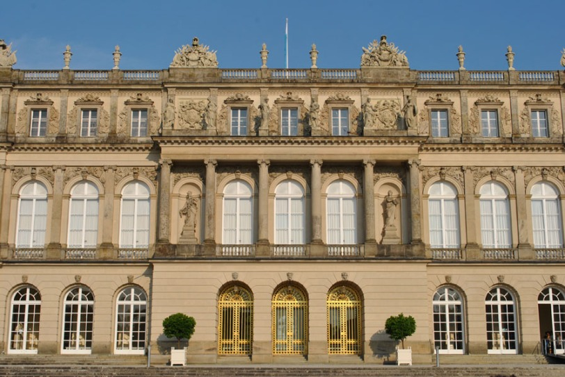 Herrenchiemsee Palace - facade