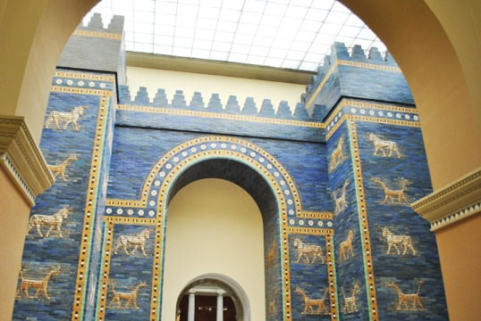 Ishtar Gate of Babylon - Pergamon Museum in Berlin