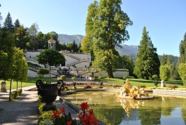 Linderhof Palace - the pool