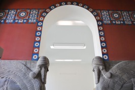 Lumasi guarding an Assyrian palace chamber