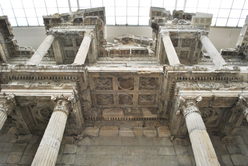 Market Gate of Miletus - seen from below