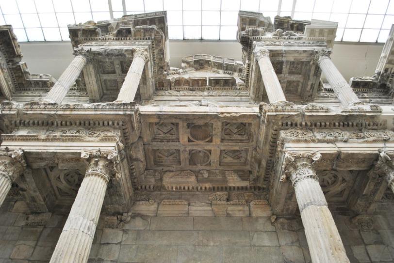 Market Gate of Miletus - seen from below
