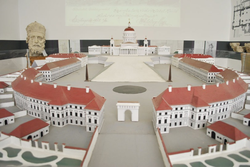 Model of the Esztergom Basilica