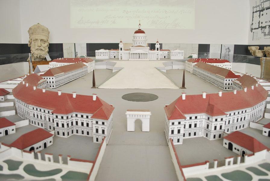 Model of the Esztergom Basilica