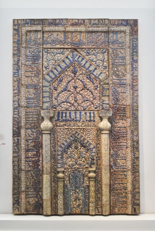 Prayer niche from Kashan - Pergamon Museum, Berlin