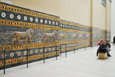 Processional Way of Babylon - lions reliefs
