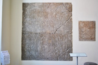 Reconstruction of a room in an Assyrian palace - Pergamon Museum, Berlin