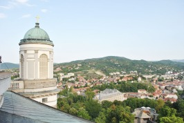 View from the Esztergom Basilica's dome