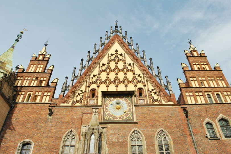 Wroclaw Old City Hall - facade