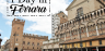 One day in Ferrara, Italy