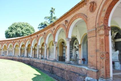 Porticoes of Certosa Cemetery in Ferrara