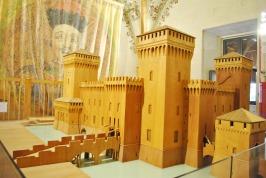 Wooden model of the Este Castle, Ferrara