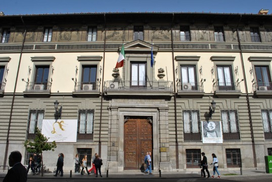 Abrantes Palace (today headquarters of the Italian Cultural Institute in Madrid) on Calle Mayor in Madrid