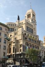 Circulo de Bellas Artes on Gran Via in Madrid